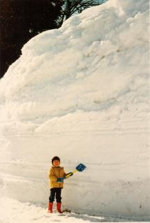 雪にまつわる想い出